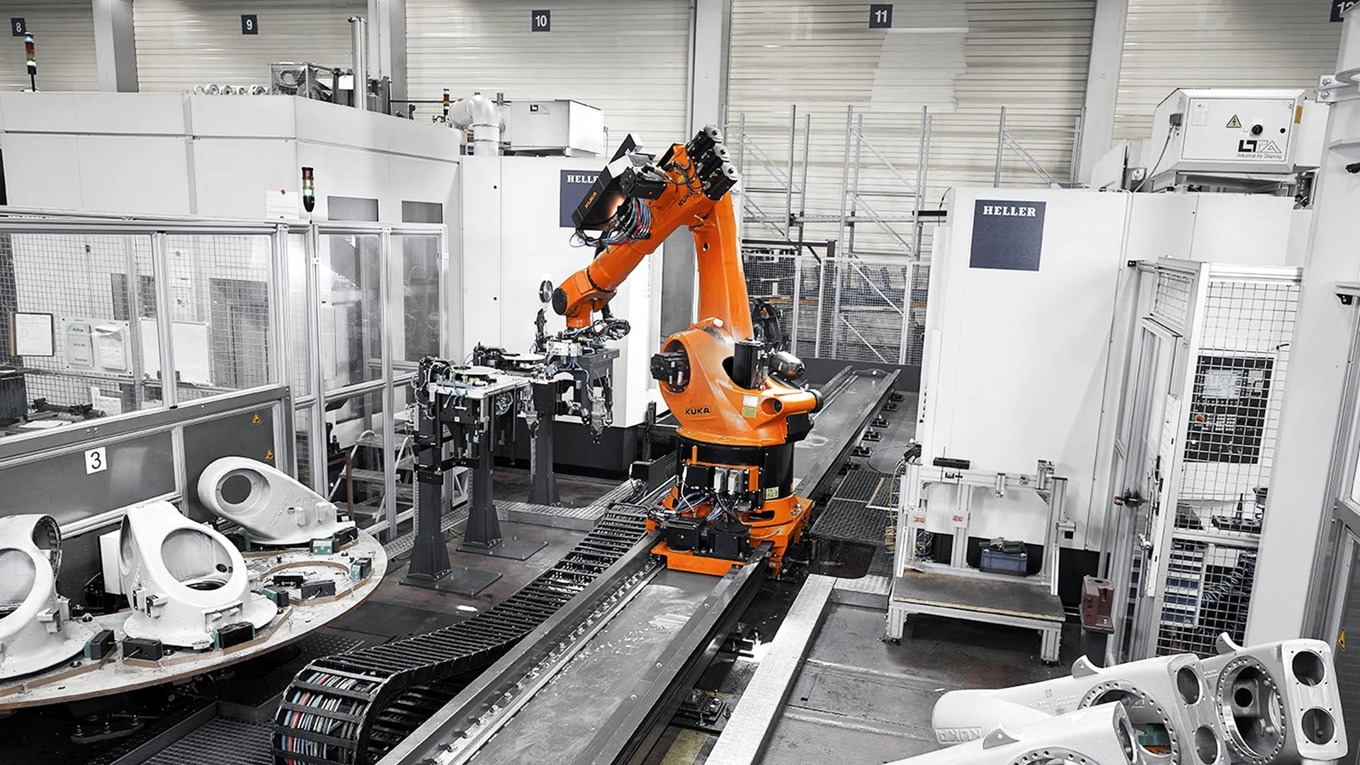 KUKA Smart Production: Industrie 4.0 Smart Cell