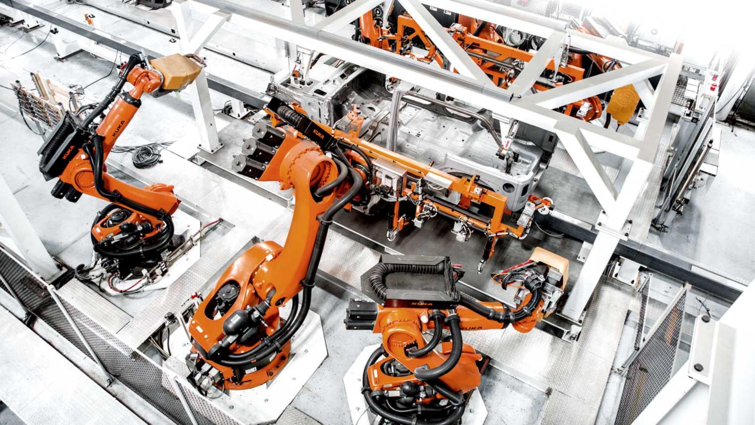 Industrial Intelligence 4 0 Beyond Automation Kuka Ag