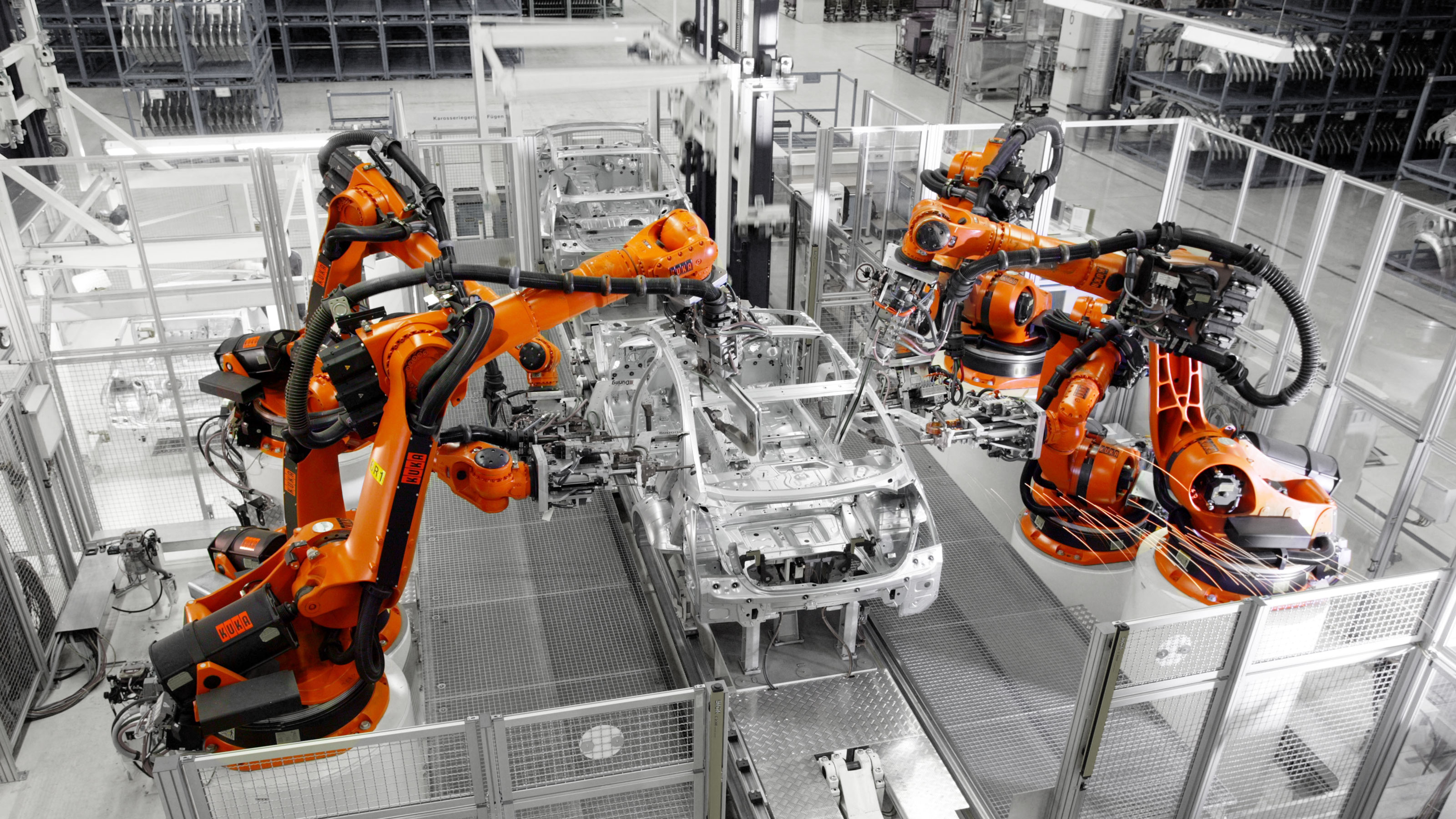 Automation in the automotive industry | KUKA AG