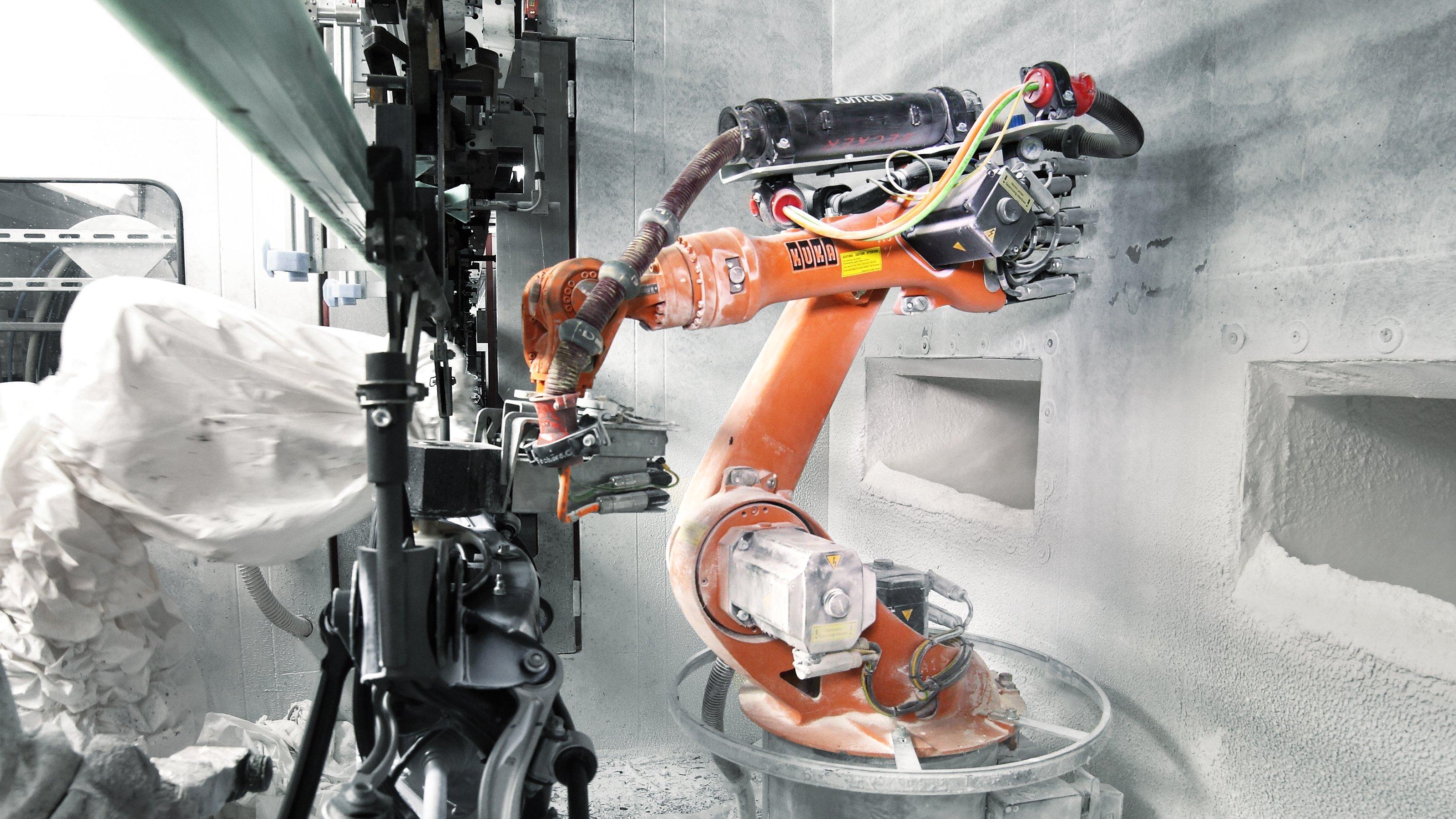 Kuka Uygulama Raporu Kuka Robotları Otomatik Boyama Işlemi Sağlıyor