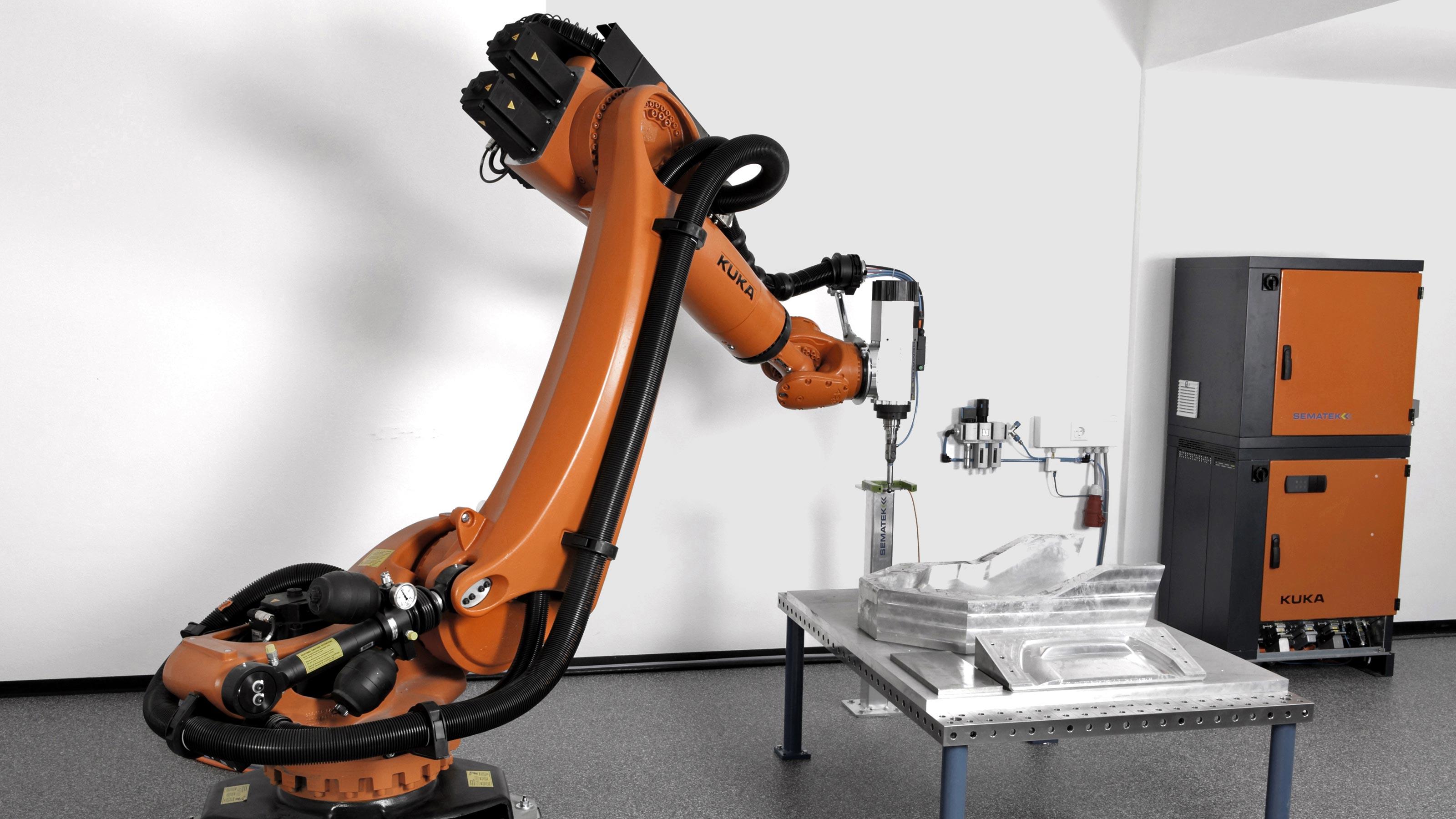 Kuka Case Studies Kuka Robots At Sematek Kuka Ag