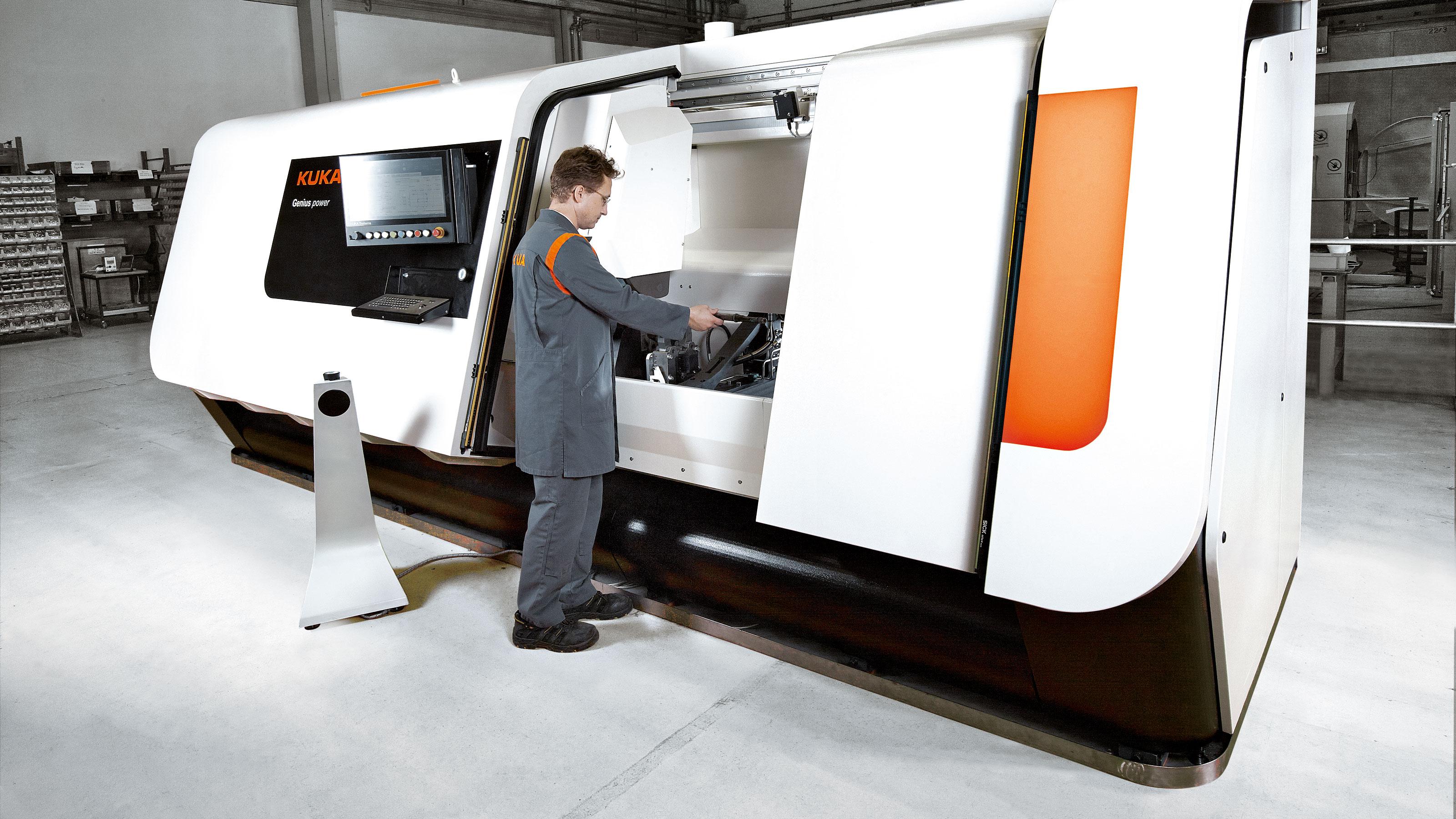 Rotational friction welding machines | KUKA AG