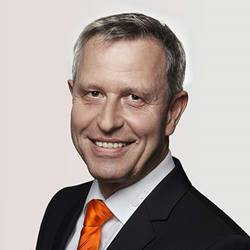 Wilfried Eberhardt, Chief Marketing Officer bij KUKA.